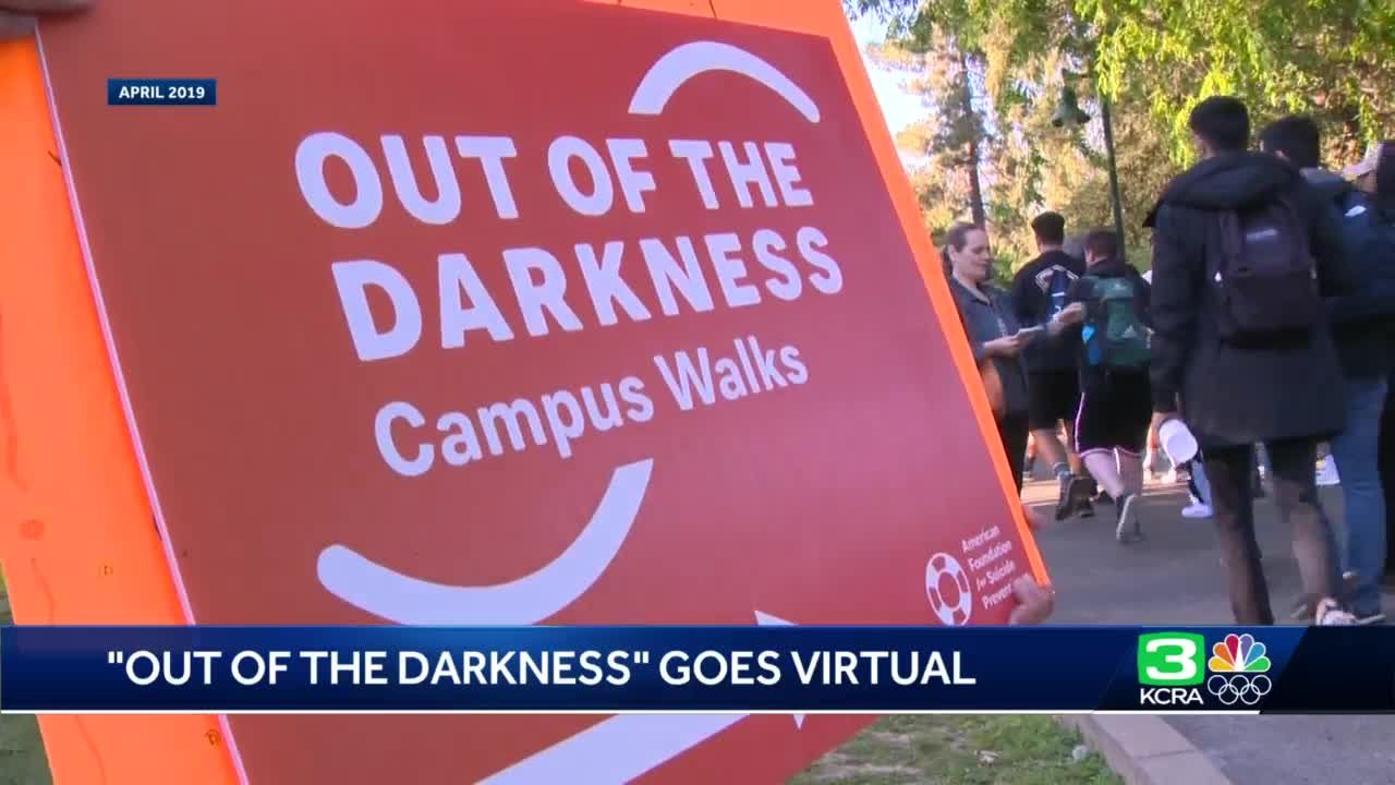 Sac State's Out of the Darkness event goes virtual for 2nd year