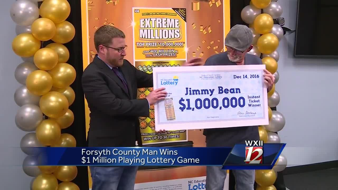 Forsyth County man wins $1 million in lottery scratch-off game