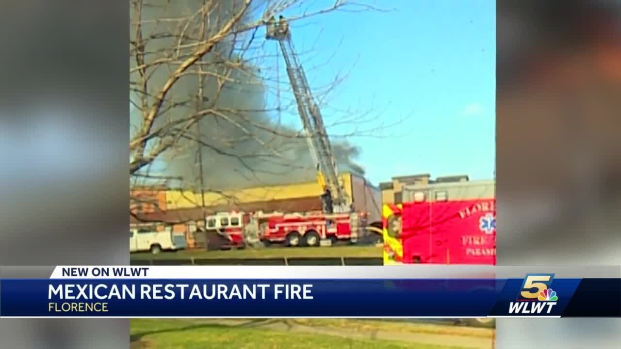 Mexican restaurant fire in Florence