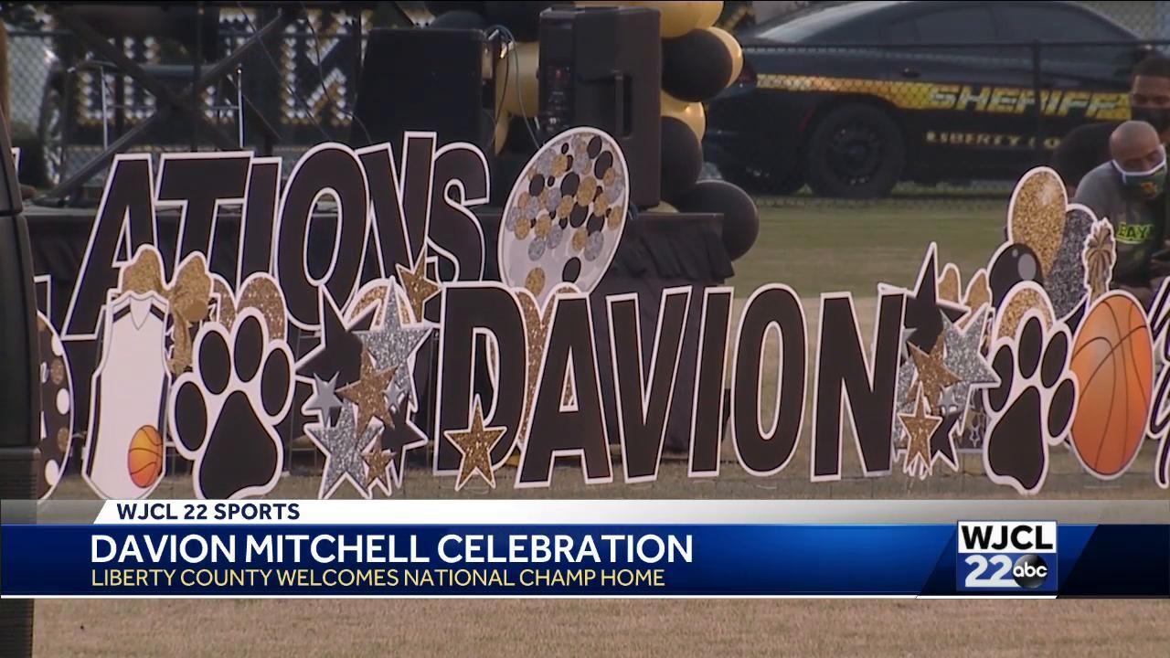 Davion Mitchell celebrated