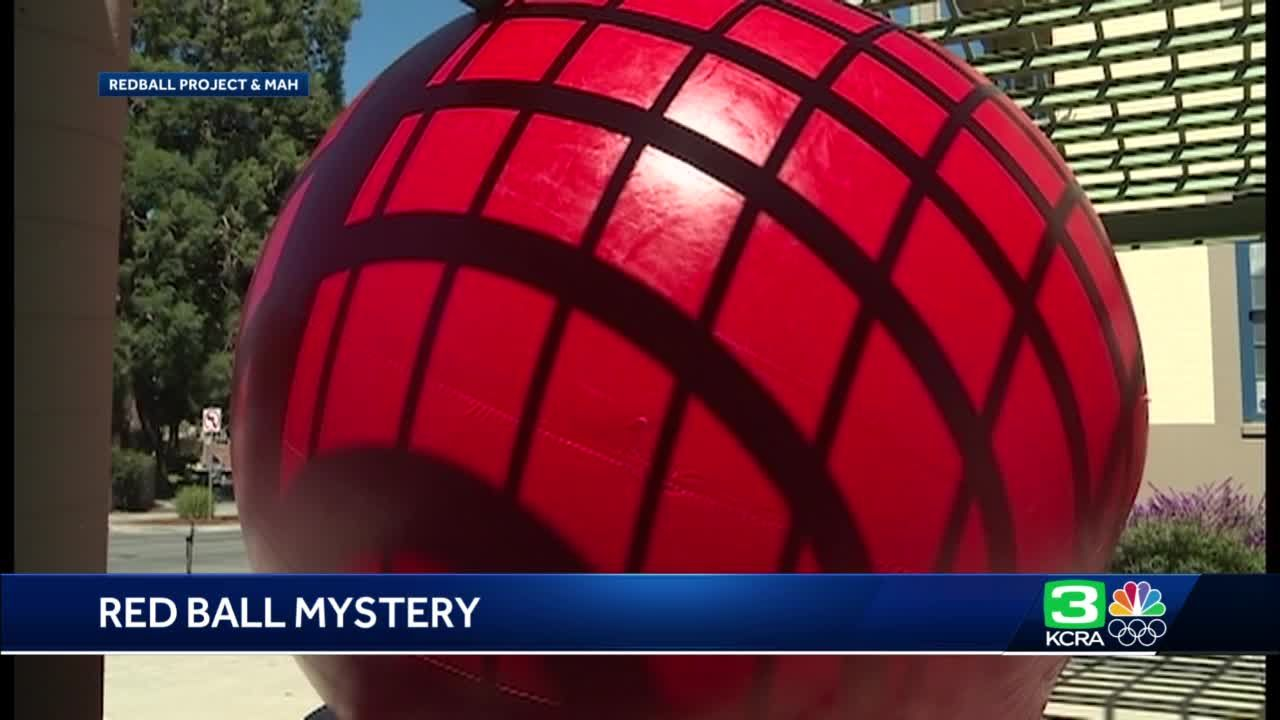 A giant red ball will make its last appearance ever in Santa Cruz this weekend