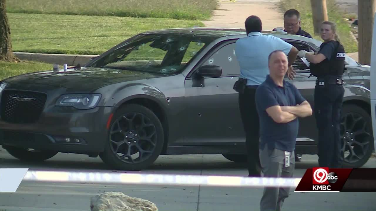 Child dies after multiple shots fired into car Monday