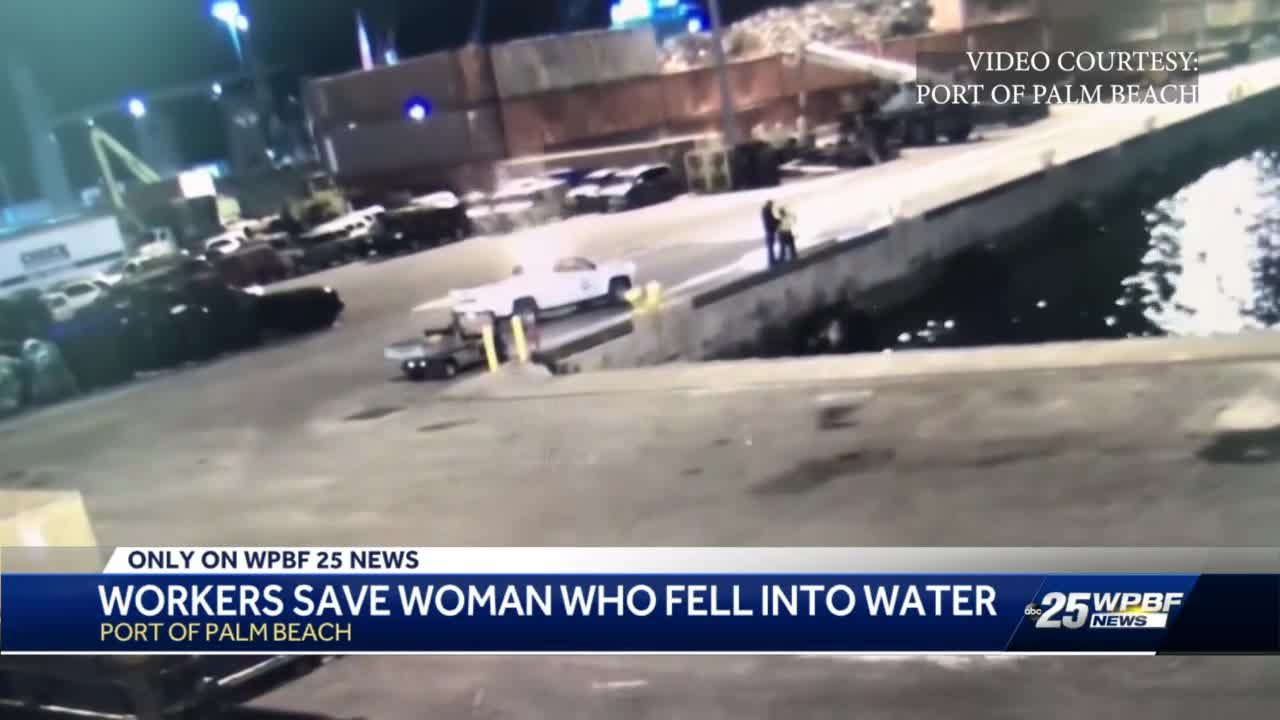 Port Palm Beach Employees Save Woman