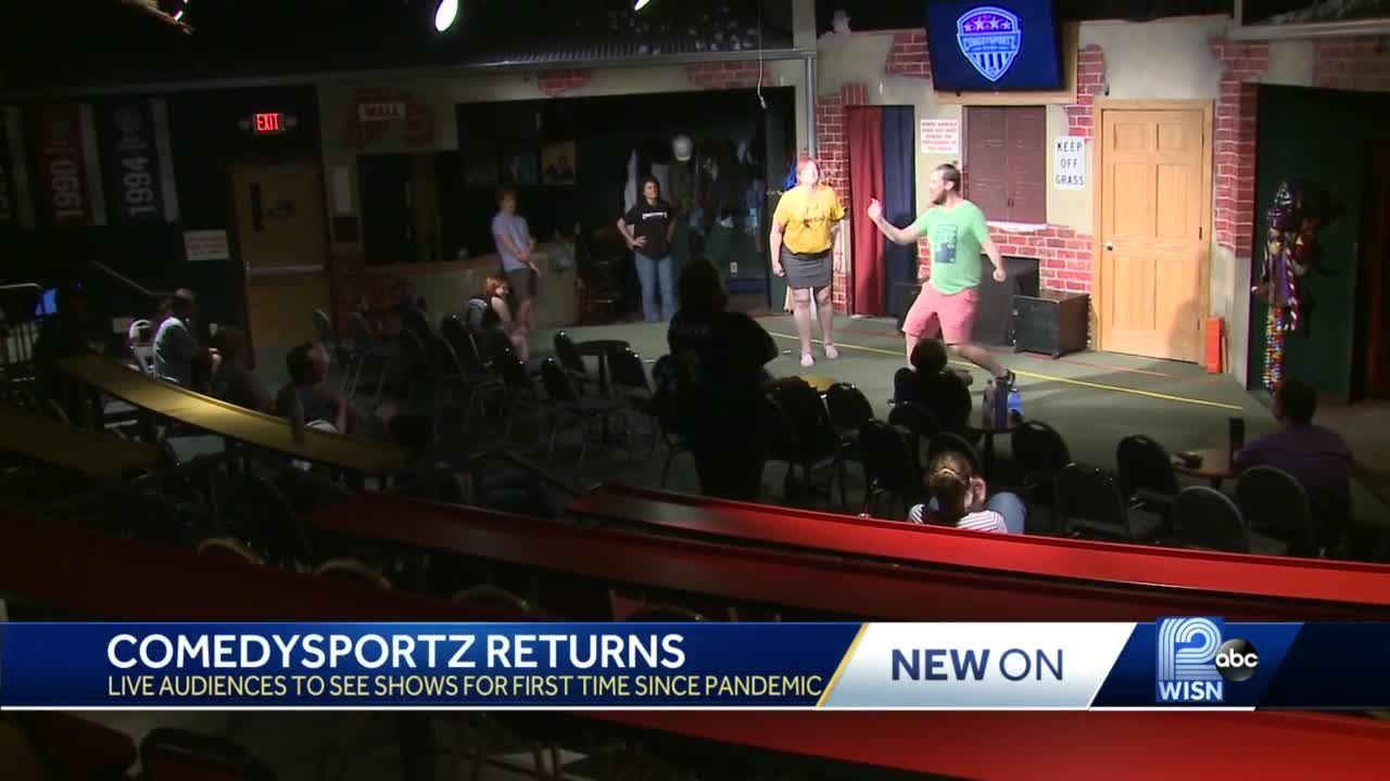 Live comedy returns to Milwaukee