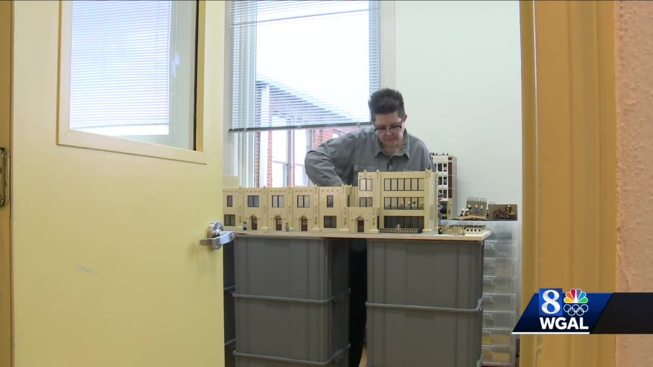 Berks County Lego artist's work on display at museum