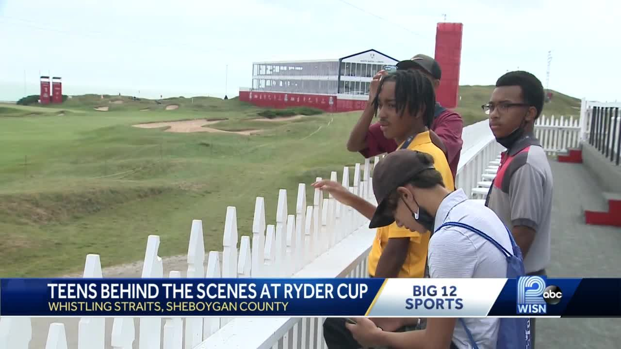 Students get Ryder Cup behind-the-scenes look