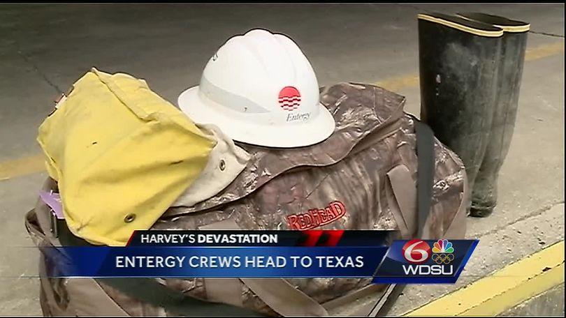 SELA Entergy crews head to Texas