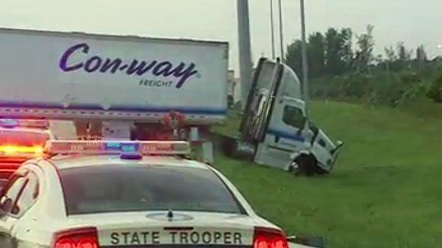 Crash causes delays on Florida's Turnpike