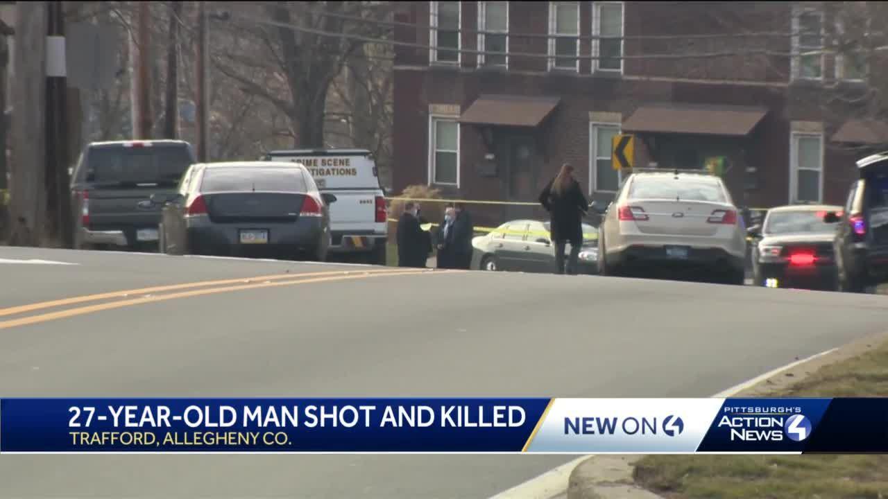 Man shot, killed in Trafford