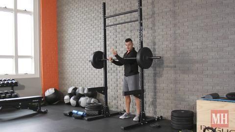 How to Perform a Zercher Squat
