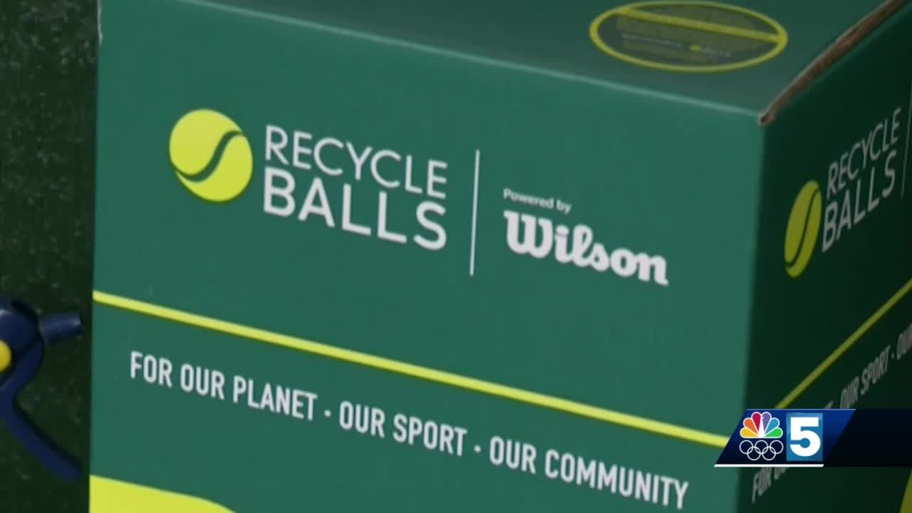Vermont nonprofit aims to score environmental win by recycling tennis balls