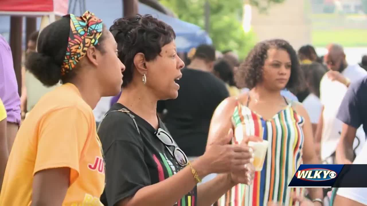 Louisville Juneteenth festival filled with celebration, culture, opportunity for Black businesses