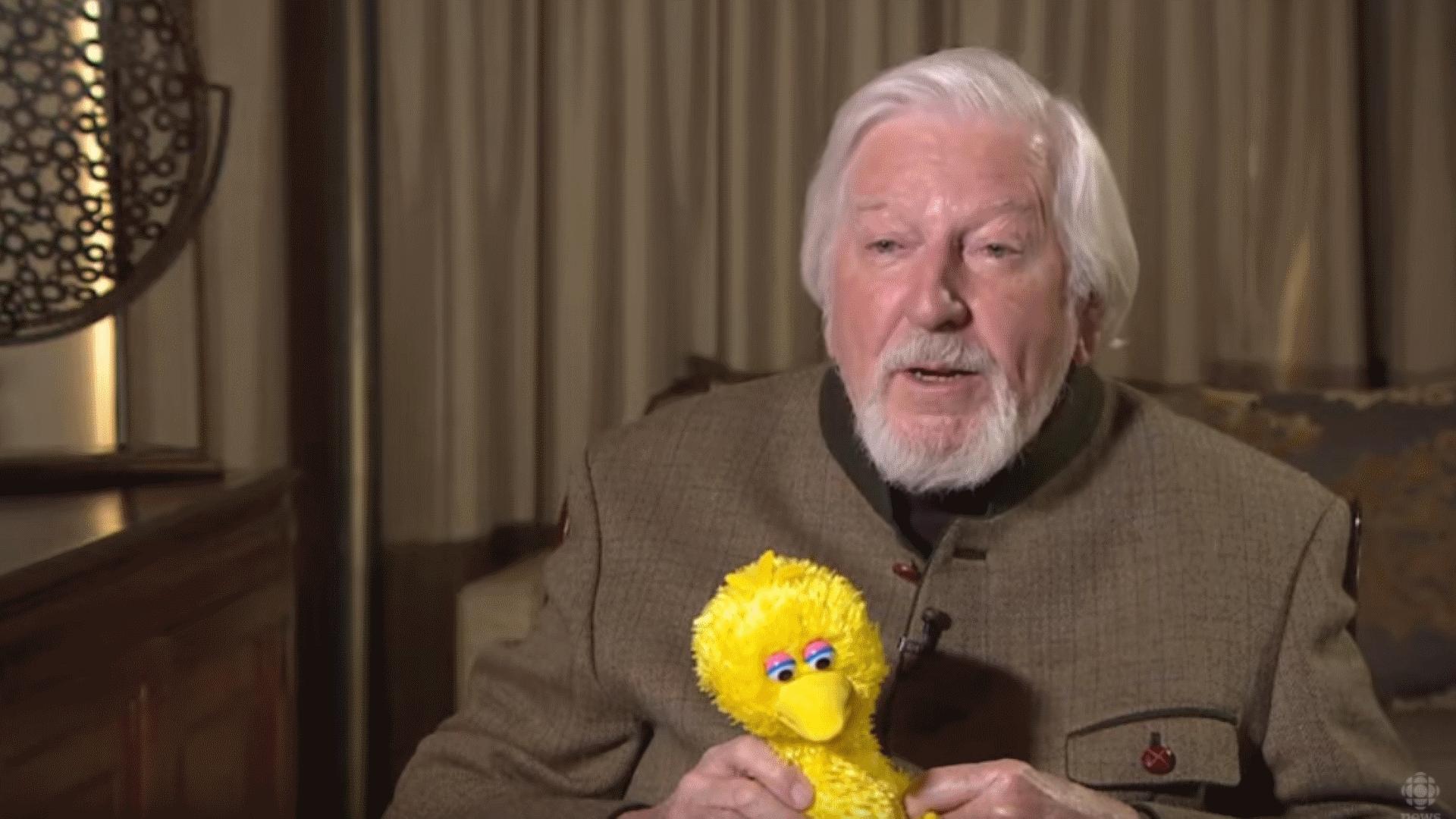 Caroll Spinney Voice Of Sesame Street Characters Big Bird