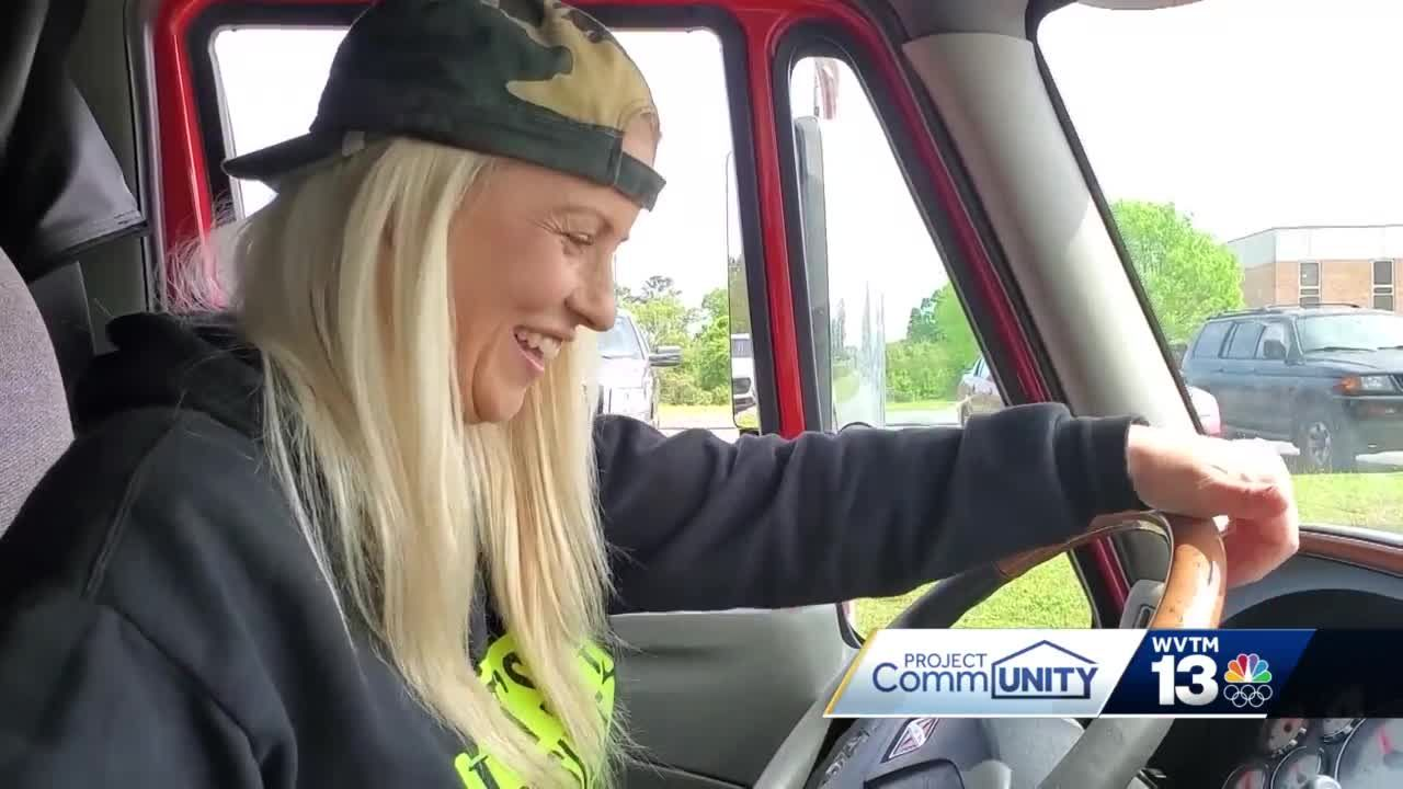 Women Breaking Barriers: Gadsden's Candace Rivers changing lanes to the trucking industry