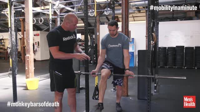 Why You Should Try the 'Monkey Bars of Death' the Next Time You Enter a Squat Rack