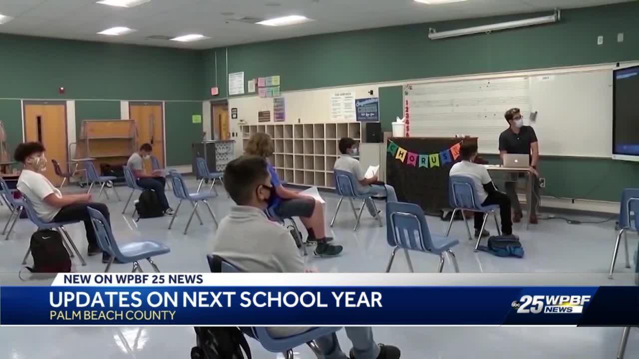Updates on next school year