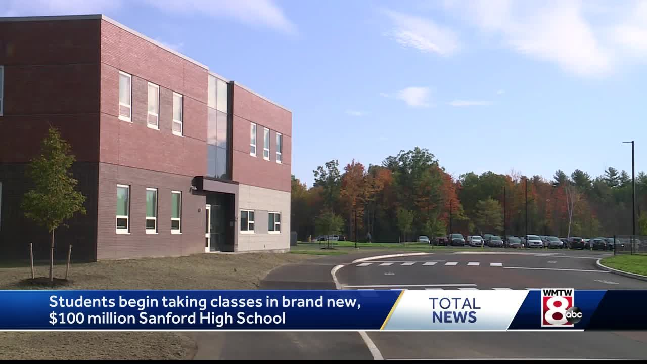 Brand new Sanford High School now open for classes