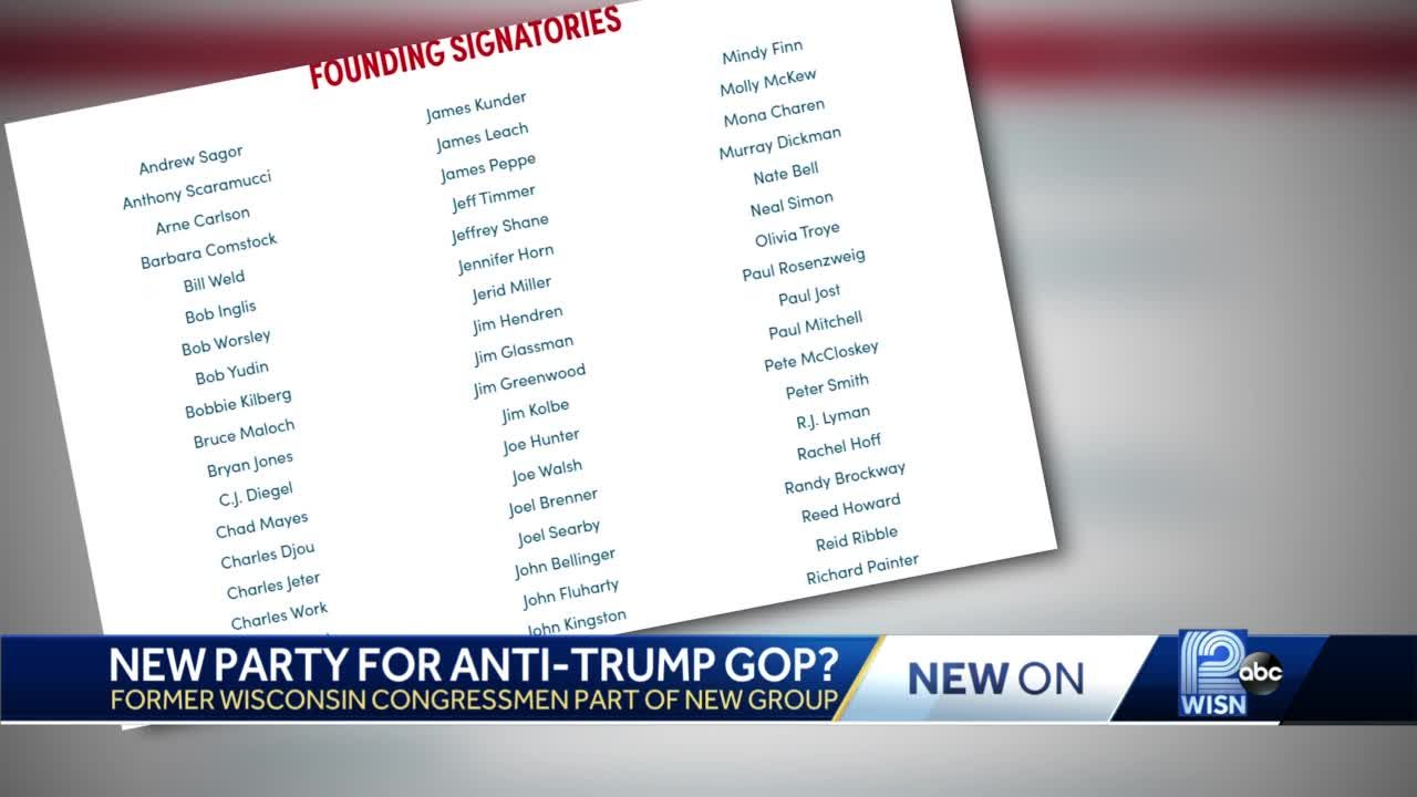 New party for anti-Trump GOP?