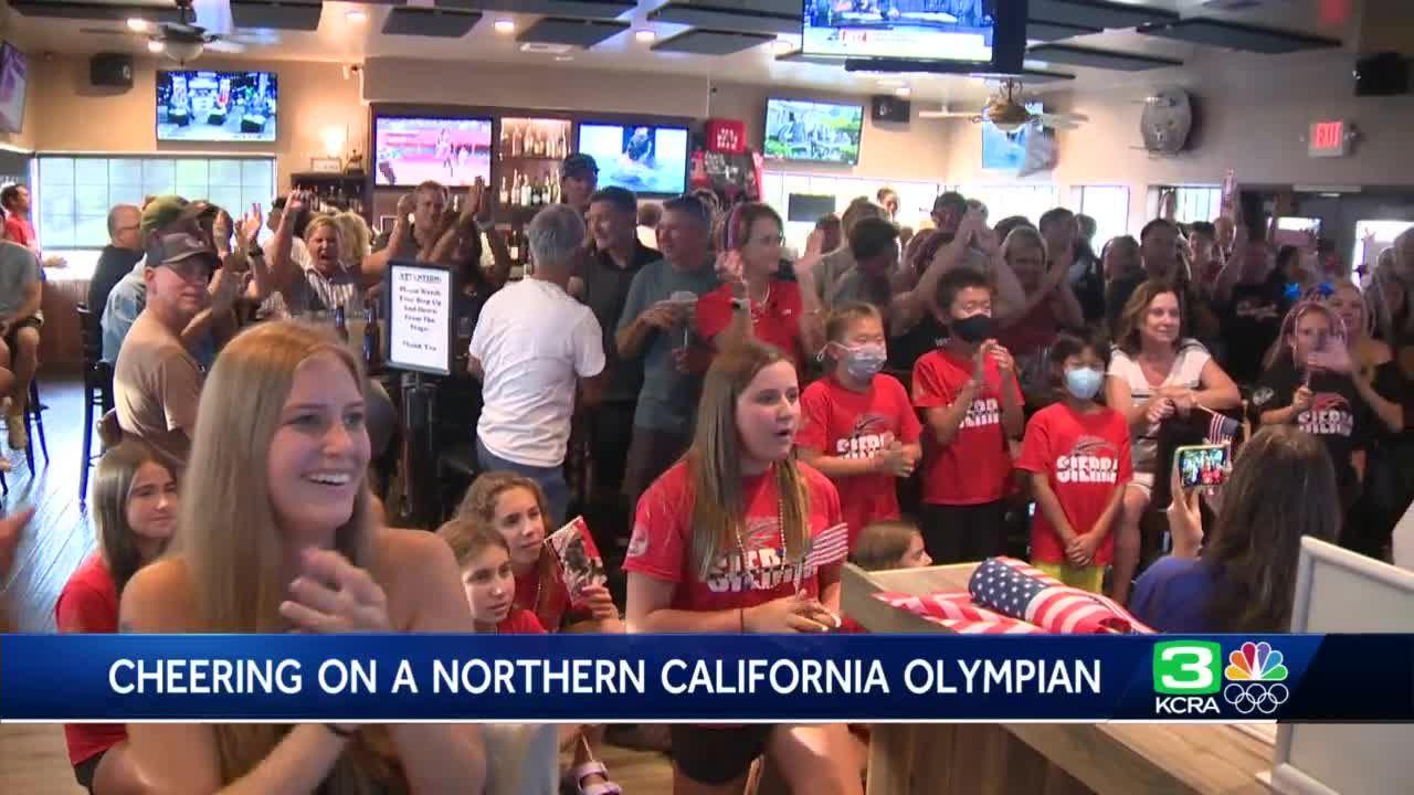 El Dorado Hills Olympian celebrated by his hometown