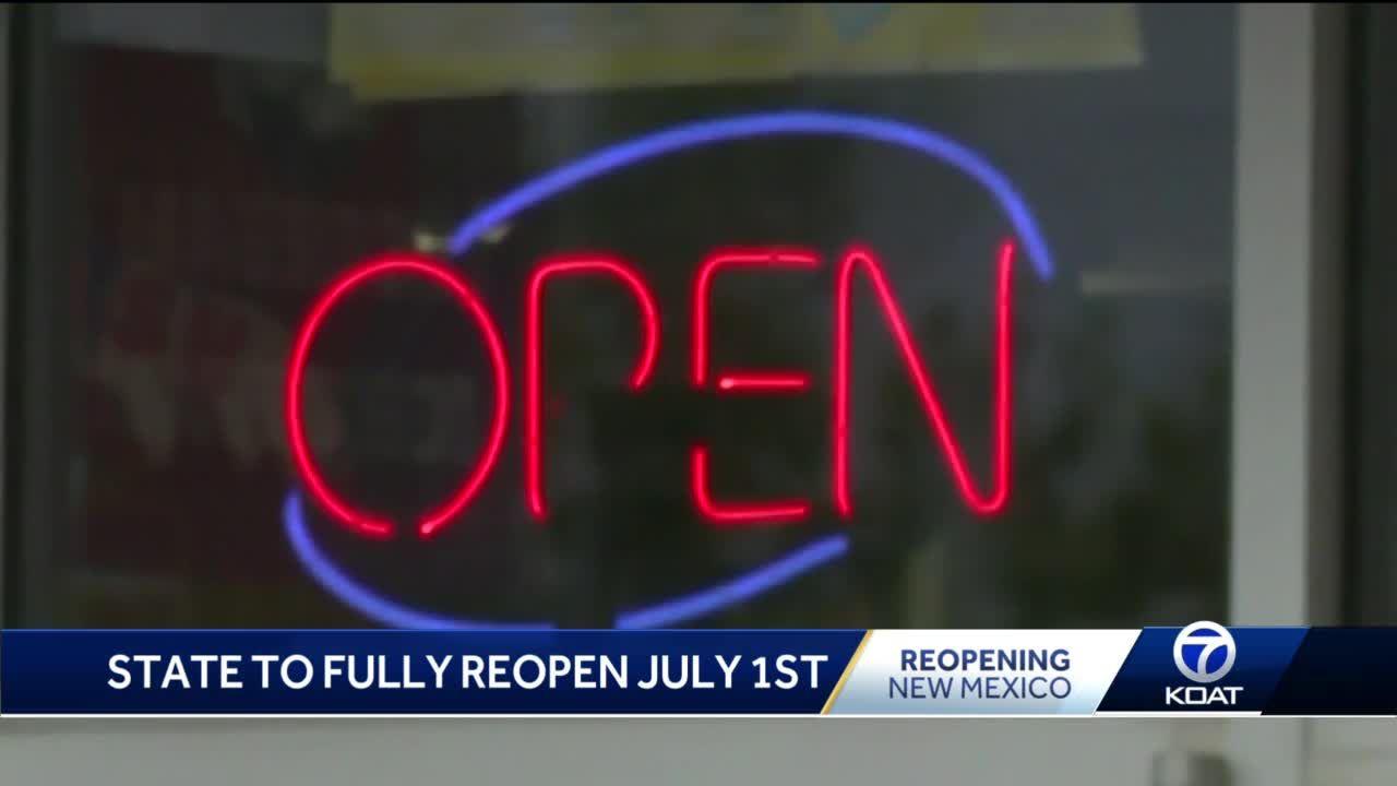 Full reopening