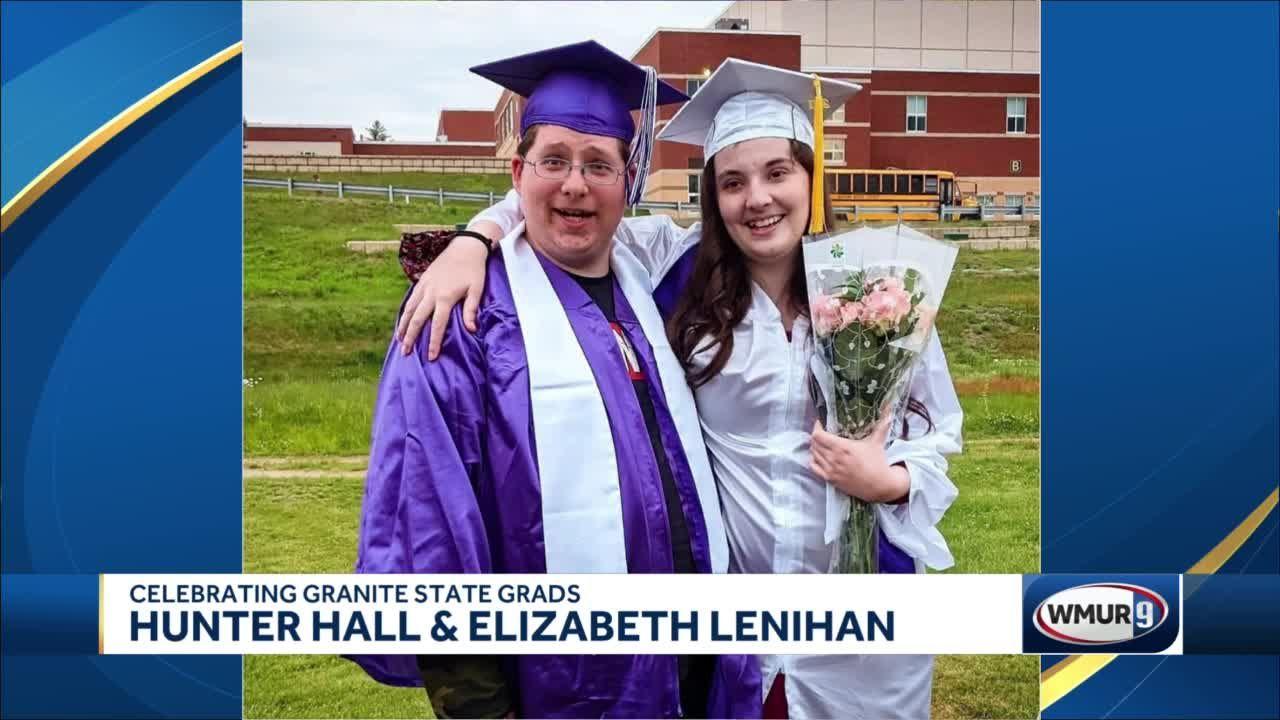 Celebrating Granite State Grads: Hunter Hall and Elizabeth Lenihan