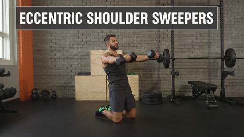 Supersize Your Shoulders with Eccentric Sweepers