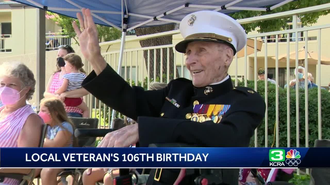 Stockton community celebrates their 'national treasure' on his 106th birthday