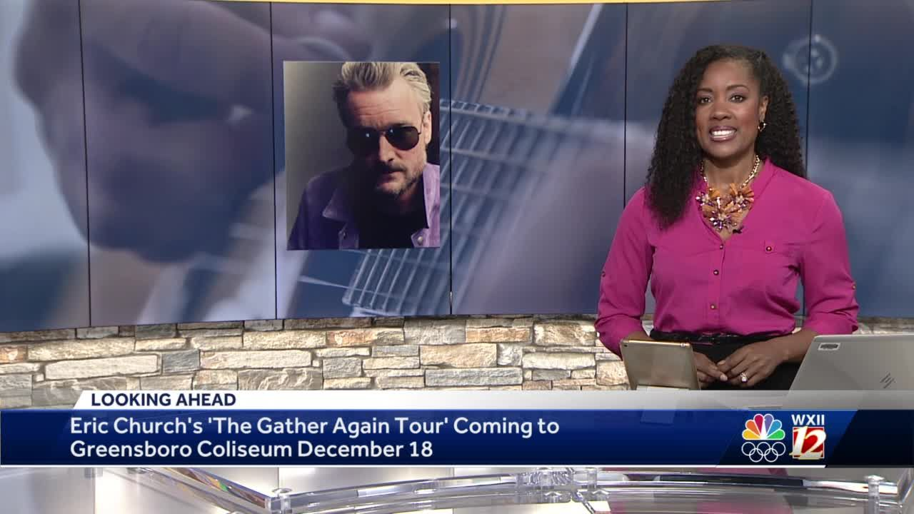 Eric Church set to play at Greensboro Coliseum in December