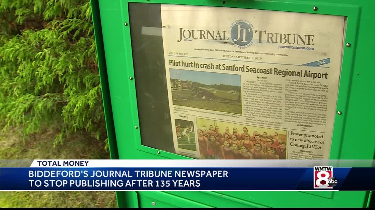 Maine Newspaper To Cease Publication After 135 Years