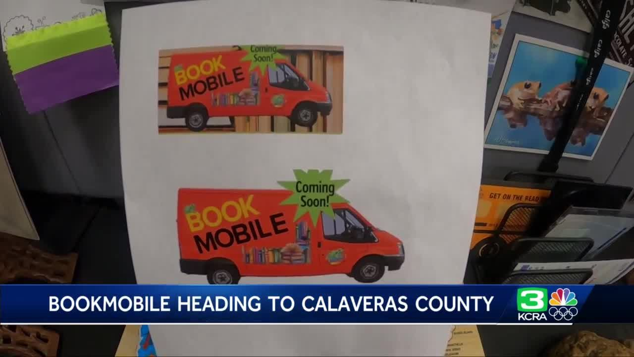 Bookmobile to bring books to underserved areas of Calaveras County