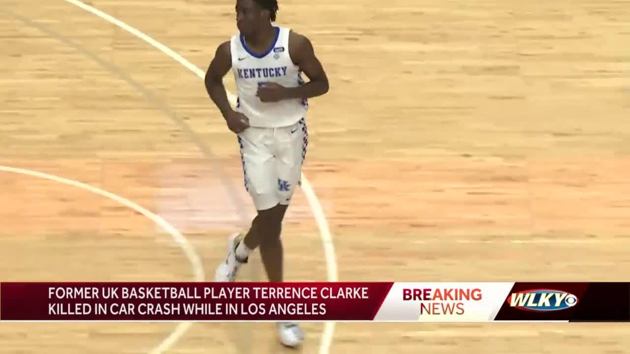 Former UK men's basketball player Terrence Clarke dies after crash in Los Angeles