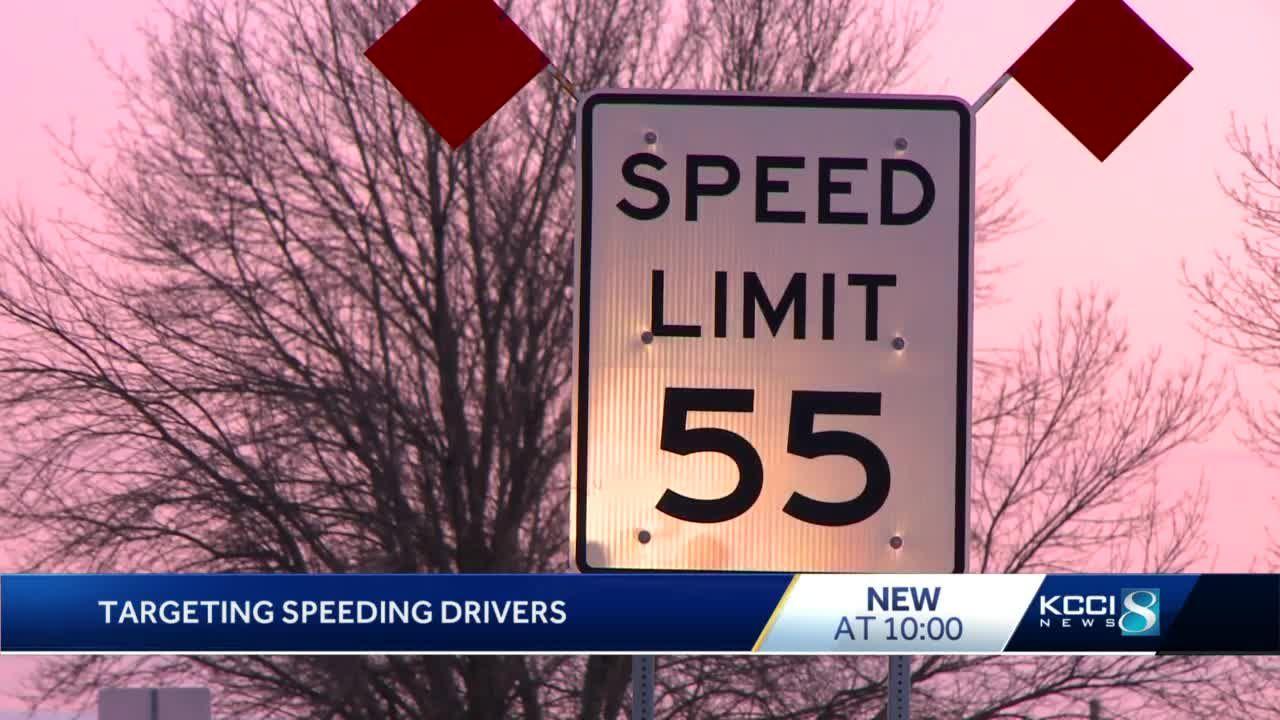 Iowa State Patrol cracks down on speeders in Warren County