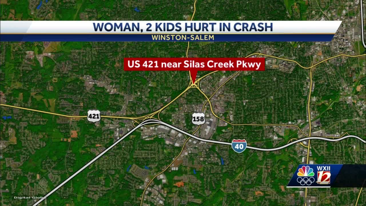 Winston-Salem woman suffers serious, life-threatening injuries in crash; Driver cited for no license