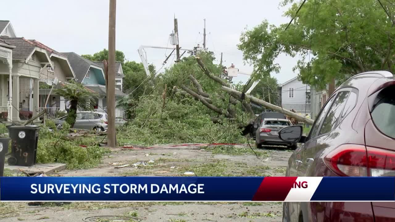 NWS: EF-0 tornado touched down in New Orleans, causing widespread damage
