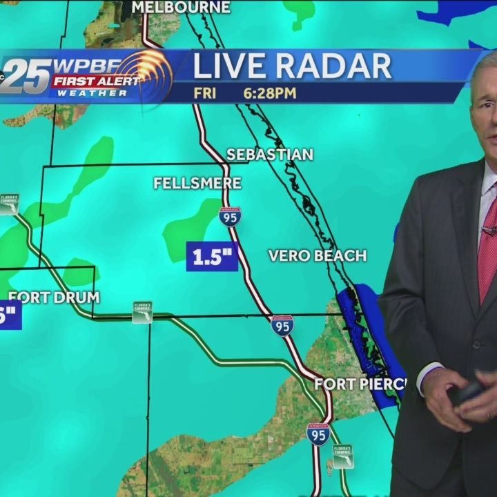 Rough weather sweeps through South Florida