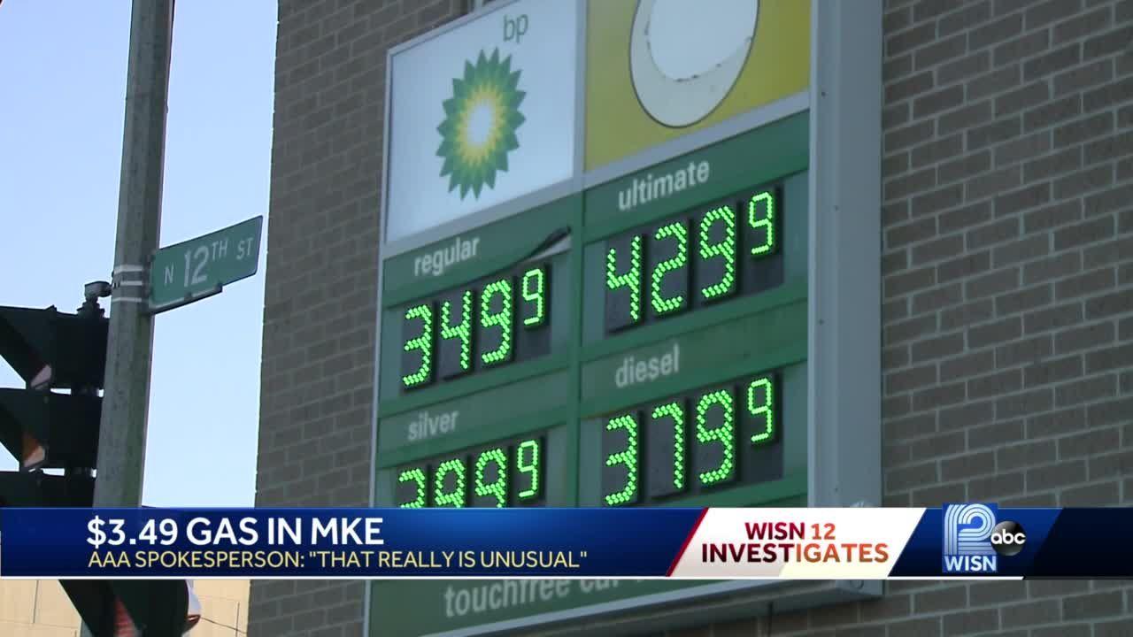 Rising gas prices found in Milwaukee