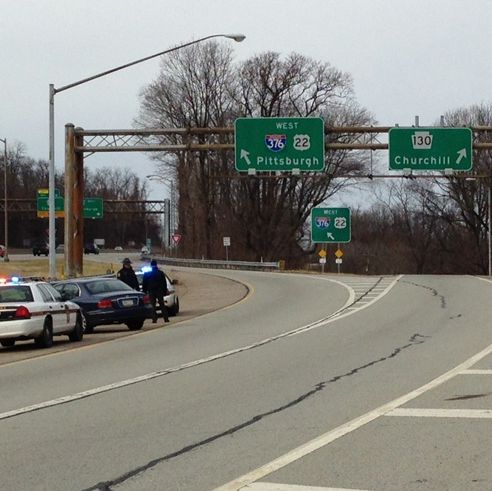 RAW VIDEO: Monroeville police car in multi-vehicle crash on Route 22