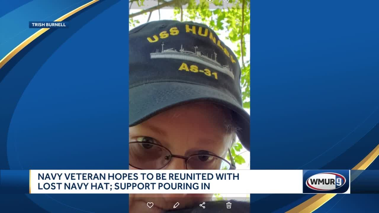 Navy veteran hopes to be reunited with lost Navy hat; support pouring in