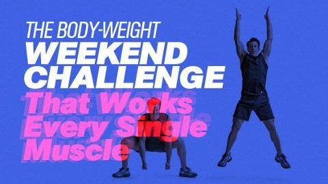 The Body-Weight Challenge That Works Every Single Muscle