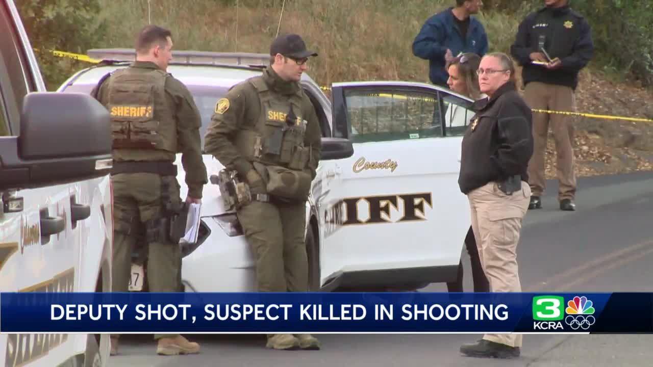 Deputy, hostage shot; suspect killed in Calaveras County