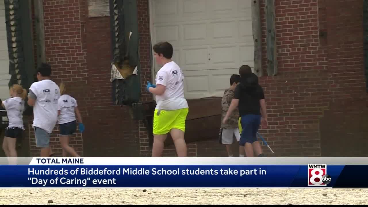 Biddeford Students Tackle Community Service Projects In The City