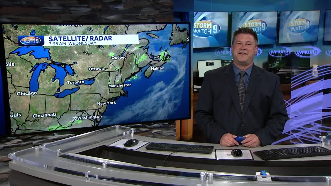 Watch: Partly sunny with passing shower