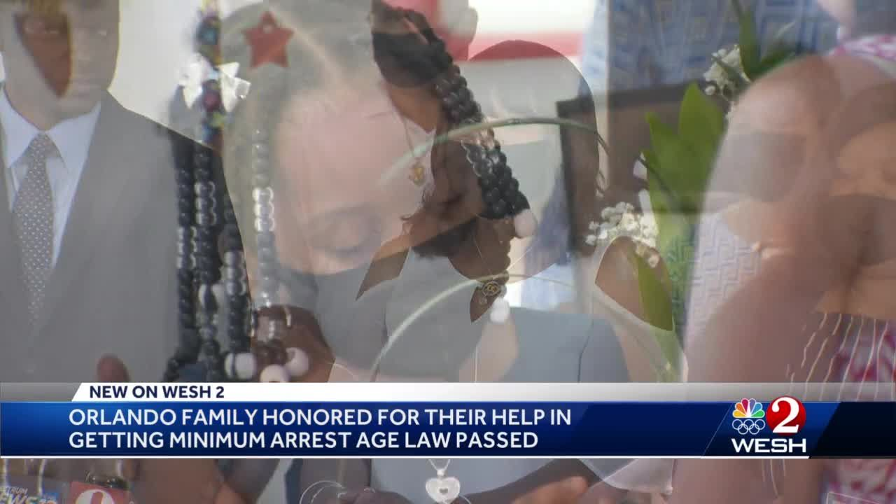 Minimum age arrest law named after Florida 6-year-old recorded sobbing in handcuffs