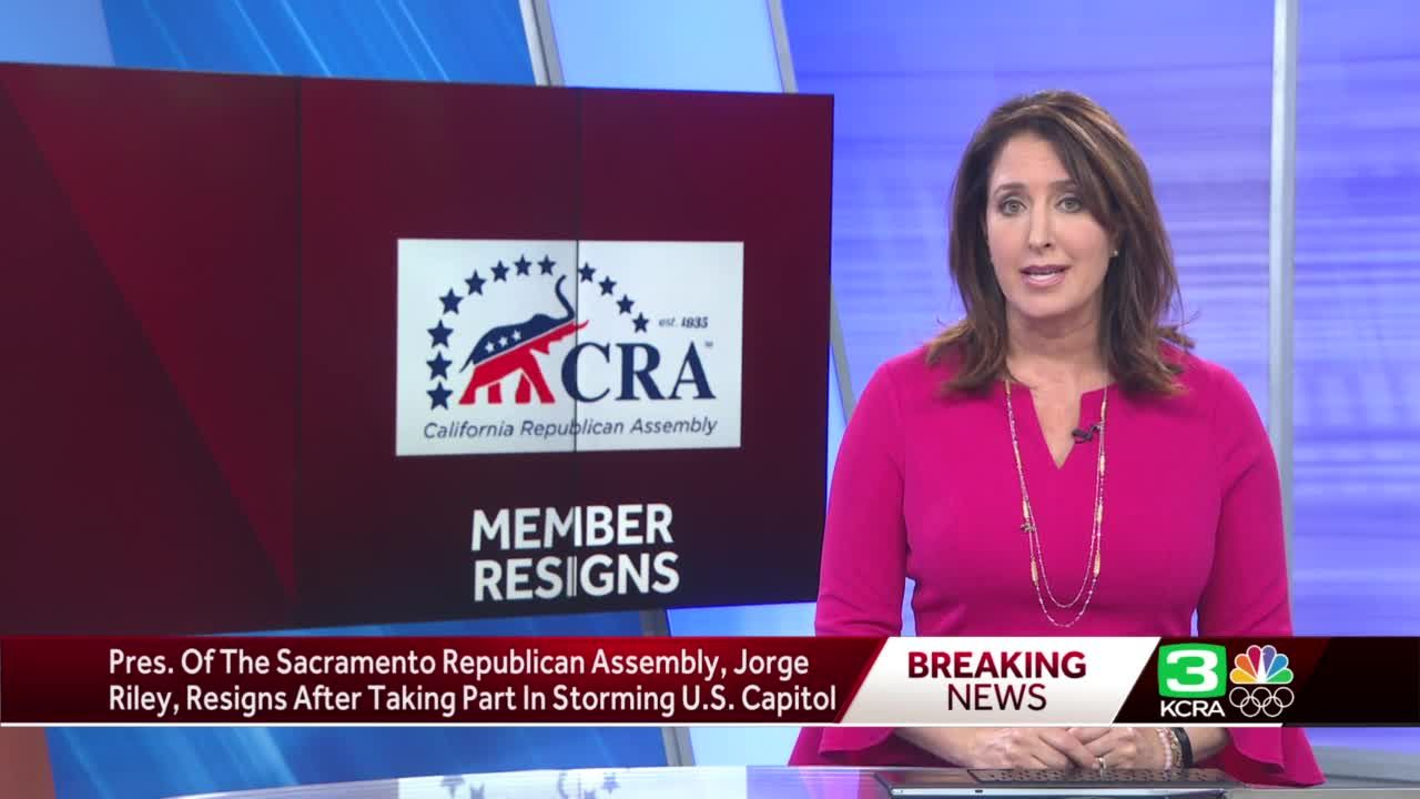 Sacramento Republican leader forced to resign after involvement in US Capitol siege