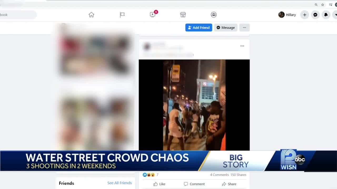 Chaos on Water Street
