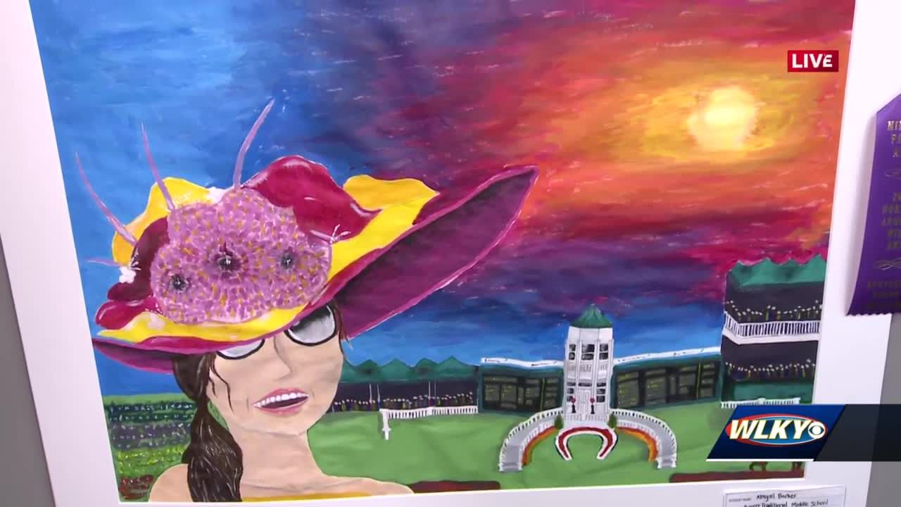 Barrett Middle student's art featured in new Derby Museum exhibit