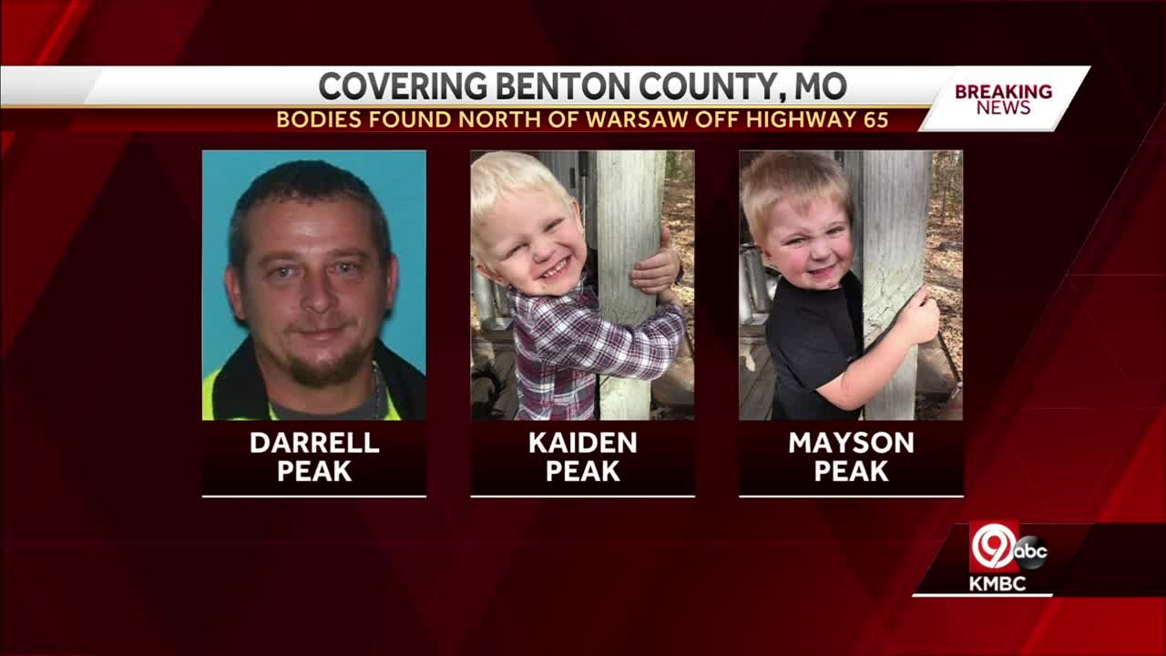 Bodies of missing man, his two children found in Benton County, authorities say