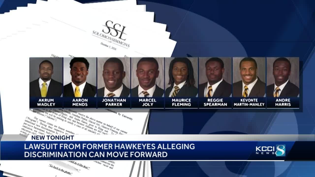 Former Iowa players' lawsuit allowed to proceed
