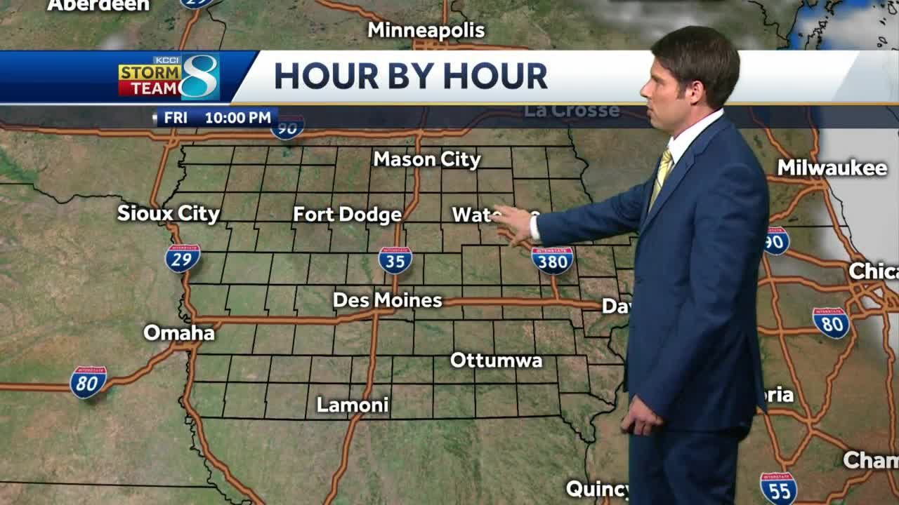 Clear skies and light winds tonight