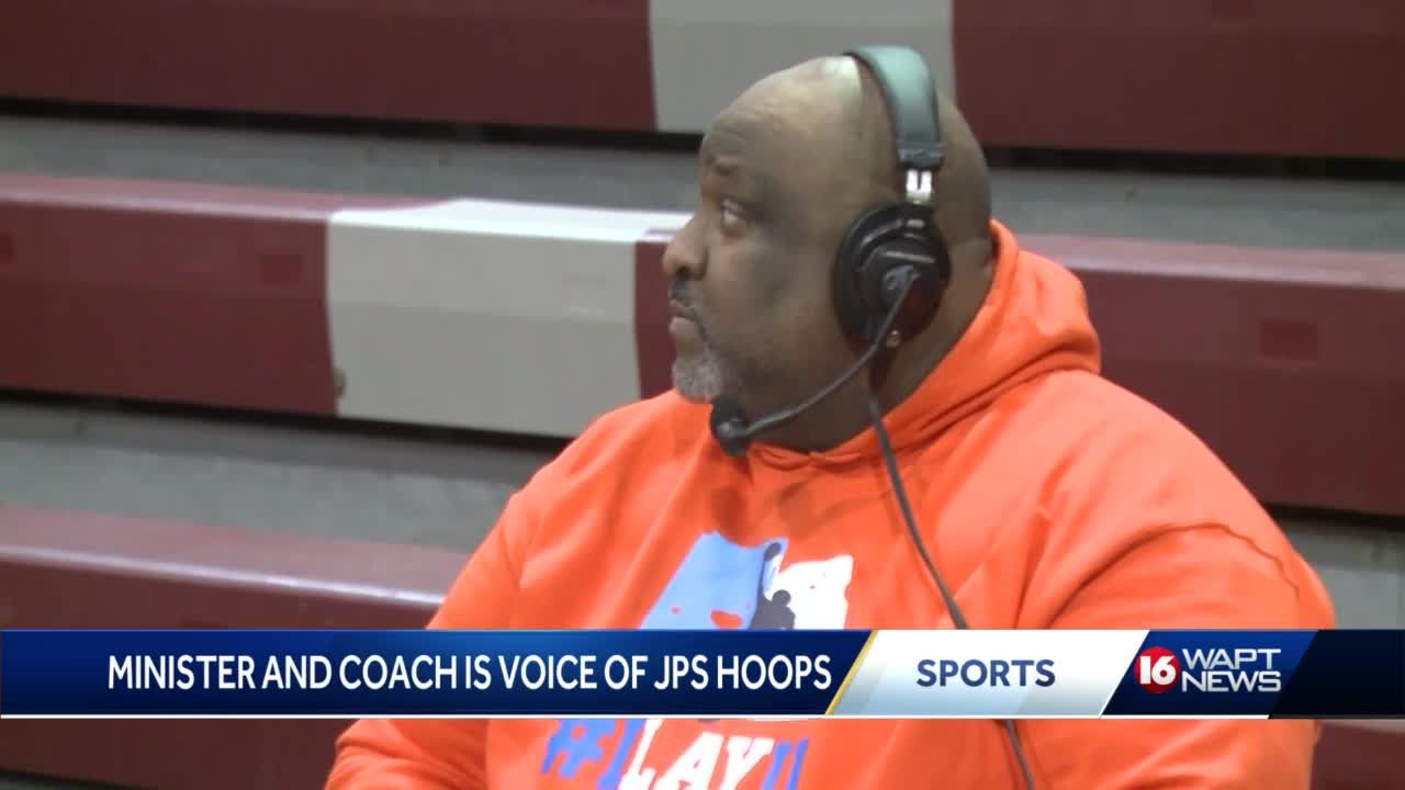 Meet the man who is the voice of JPS Hoops